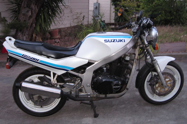 1989 Suzuki GS500 For Sale | joel | Flickr